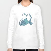 octopus Long Sleeve T-shirts featuring Octopus ! by Clare Corfield Carr