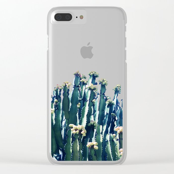 Cactus V5 #society6 #decor #buyart Clear iPhone Case