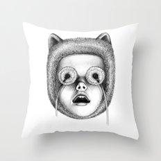 breathe normally Throw Pillow