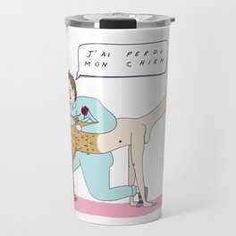 Francis Bacon le coiffeur Travel Mug