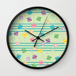 Lollipop Fever Wall Clock