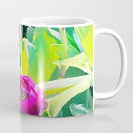 Two Tulips Rising Coffee Mug