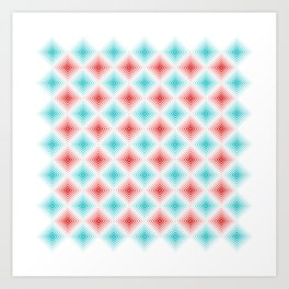 #507 pattern Art Print