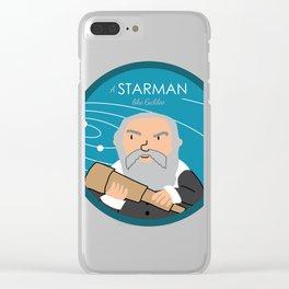 A Starman like Galileo Clear iPhone Case