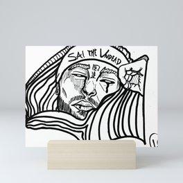 Sai the undead Mini Art Print