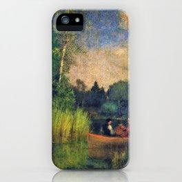 Dusk in the Rushes, Alexandria Bay - Digital Remastered Edition iPhone Case