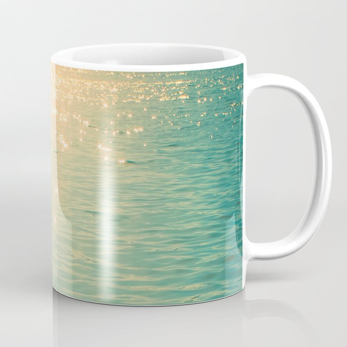 Showering in Sparkling Sunshine Coffee Mug
