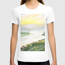 Far Side of Mountain  T-shirt