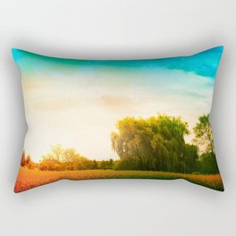 Waking Willow Rectangular Pillow