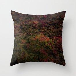 Dark Warmth Throw Pillow