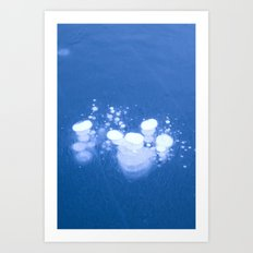 Frozen Air Art Print