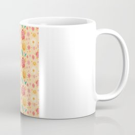 Peach Roses Coffee Mug