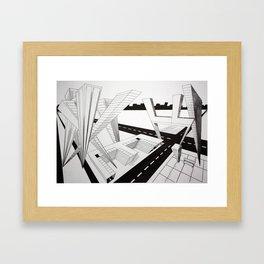 Name Framed Art Print
