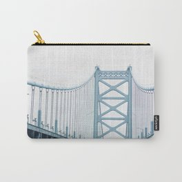 The Ben Franklin Bridge Carry-All Pouch