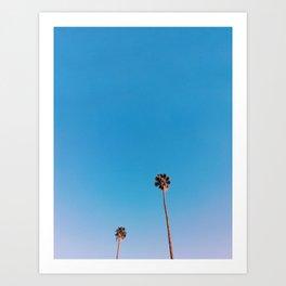 Palm Besties Art Print