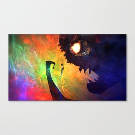 Monster Man Canvas Print
