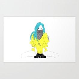 CL - Fashion KPOP Art Print