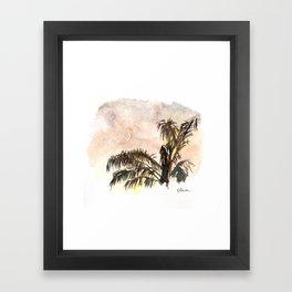 New Moon Framed Art Print