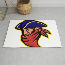 Highwayman or Robber Mascot Rug