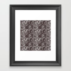 Sleepy Koala Framed Art Print
