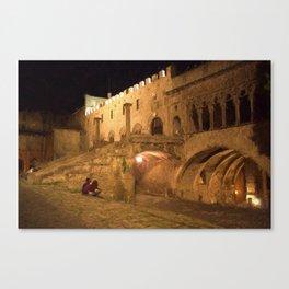 Viterbo - Palazzo dei Papi Canvas Print