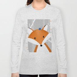 Fox and snail Long Sleeve T-shirt
