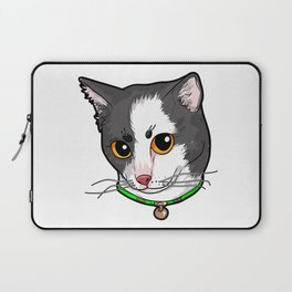 Japanese Bobtail Cat Face Cats Love Comic Funny Laptop Sleeve