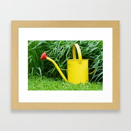 Watering Can 3 Framed Art Print