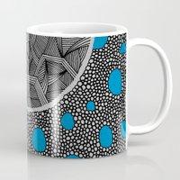 sagan Mugs featuring - cosmos_04 - by Magdalla Del Fresto