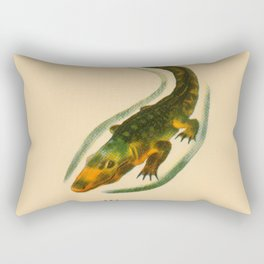 A is for Alligator Rectangular Pillow
