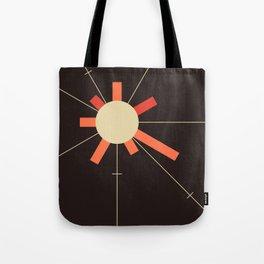 paper sun || charcoal Tote Bag