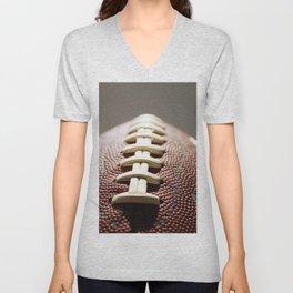 Football Season, American Sports, Pigskin Unisex V-Neck