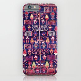 Bakhtiari Khan West Central Persian Rug Print iPhone Case
