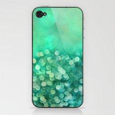 emerald bling iPhone & iPod Skin