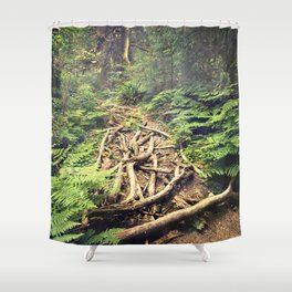 Misty Rainforest Shower Curtain