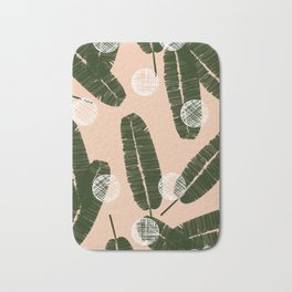 Palms & Dots #society6 #decor #buyart Bath Mat