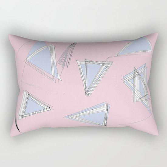 UNdone - pantone Rectangular Pillow