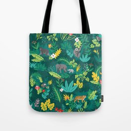 Sumatran Jungle Tote Bag