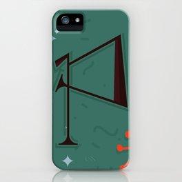 Alphabet Drop Caps Series- P iPhone Case