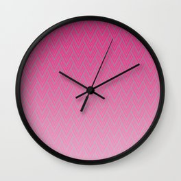 Deep Arrows Wall Clock
