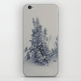 Lost Inside a Snow Cloud iPhone Skin