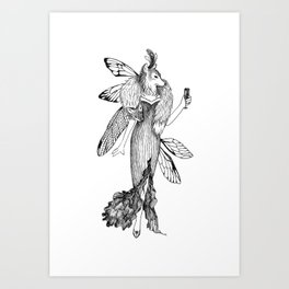 The Wolf: Artemis Art Print