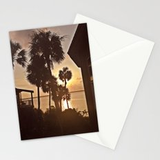 Palm Tree Silhouettes  Stationery Cards