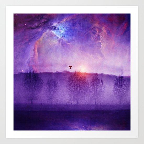 Orion nebula II Art Print
