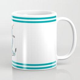 Anchor and Tentacle (Riso edition) Coffee Mug