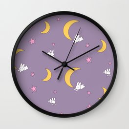 Usagi Tsukino Sheet Duvet - Sailor Moon Bunnies Wall Clock