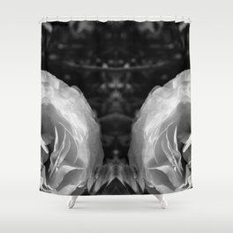 Distant Hieronymus Shower Curtain