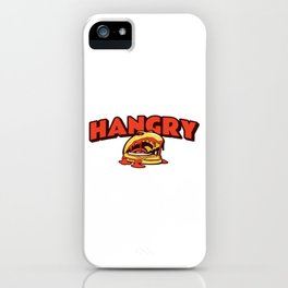 Hangry Burger iPhone Case