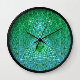 Lifeforms | Sacred geometry Wall Clock