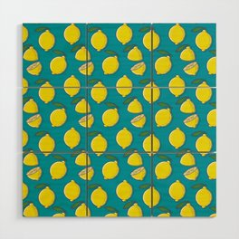 Lemons Wood Wall Art